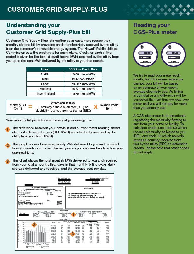 Customer Grid Supply-Plus