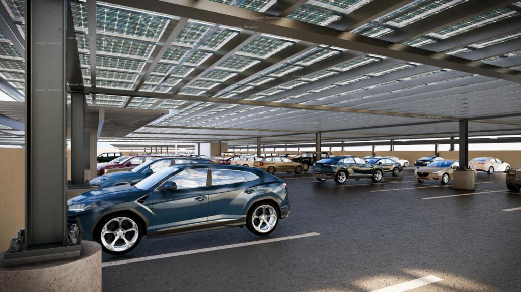 Solar Car Port