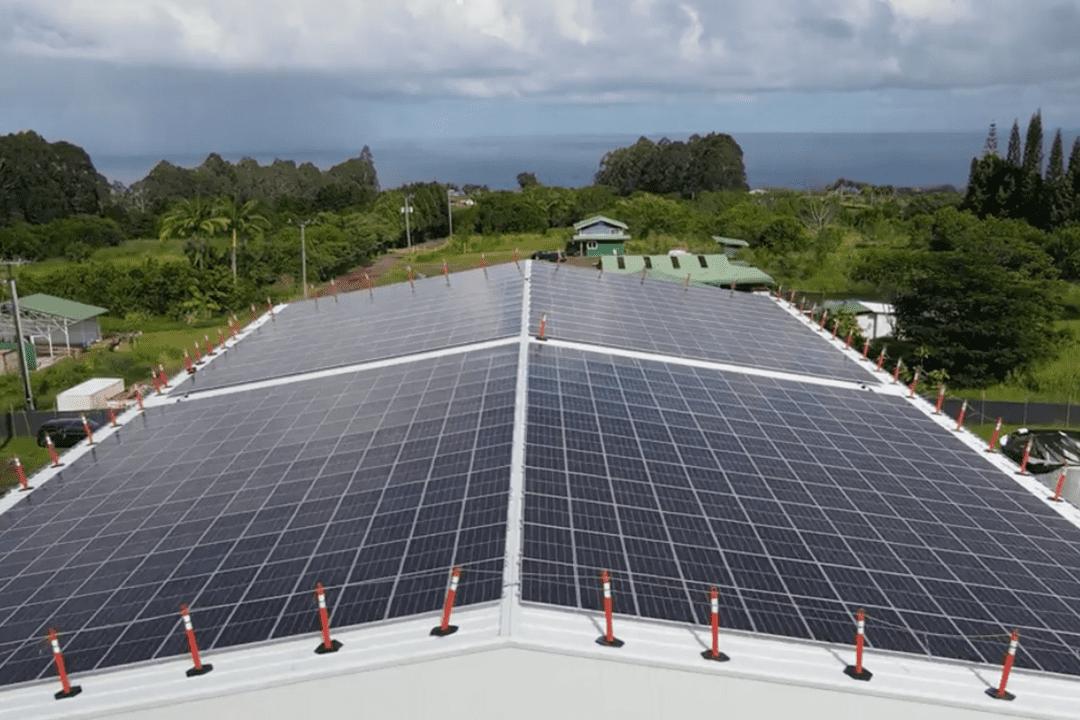 Big Island Grown Rooftop Solar Installation